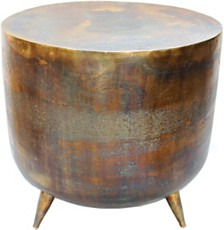 Kettel Accent Table Brass