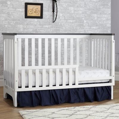 White Suite Bebe Winchester Toddler Guard Rail