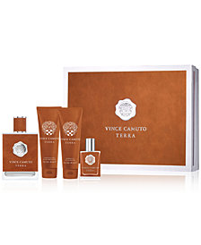 Vince Camuto Men's 4-Pc. Terra Gift Set