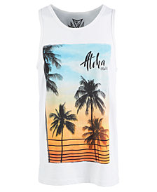 Men's Maui Rose Graphic Tank Top