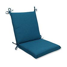 Spectrum Peacock Squared Corners Chair Cushion