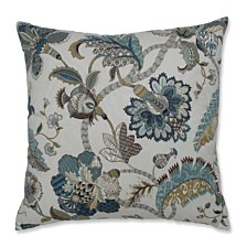 "Finders Keepers French Blue 24.5"" Floor Pillow"