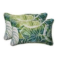 Key Cove Lagoon Rectangular Throw Pillow, Set of 2