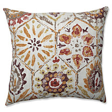 "Antique Stone Spice 18"" Throw Pillow"