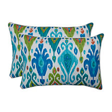 Paso Caribe Over-sized Rectangular Throw Pillow, Set of 2