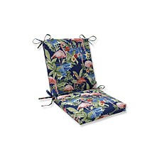 Flamingoing Lagoon Squared Corners Chair Cushion