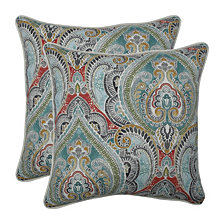 """Pretty Witty Reef 18.5"""" Throw Pillow, Set of 2"""