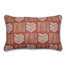 Whythe Coral Rectangular Throw Pillow