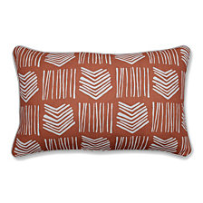 Whythe Coral Rectangular Throw Pillow