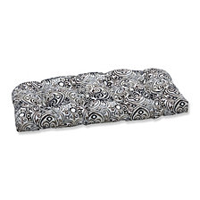 Corinthian Driftwood Wicker Loveseat Cushion