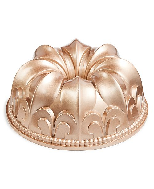 Martha Stewart Collection Damask Bundt Pan, Created for Macy's