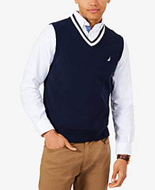 Nautica Men's V-Neck Sweater Vest