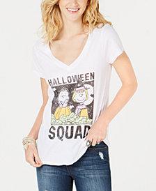 Love Tribe Juniors' V-Neck Squad Graphic T-Shirt