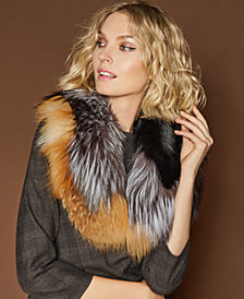 The Fur Vault Fox Fur Scarf