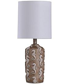 Seahorse Motif Mini Table Lamp