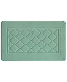 Bacova Florence Microban Memory Foam Bath Rug Collection