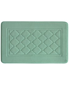 Bacova Florence Microban Memory Foam Bath Rug Collection