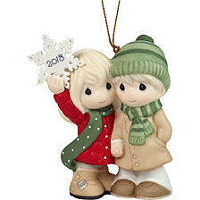 Precious Moments Our First Christmas Together 2018 Dated Ornament