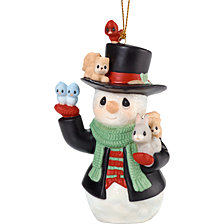 Precious Moments 9th Annual Snowman Series Christmas Cheer For All Ornament