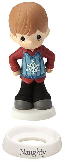 Naughty And Nice Figurine, Boy