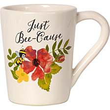 Just Bee-Cause Mug