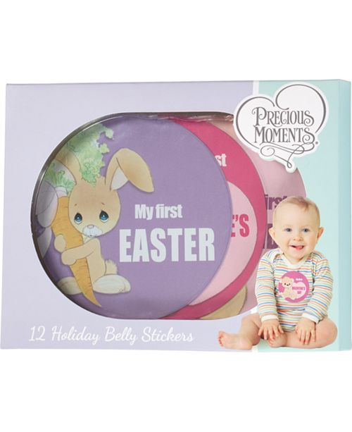 Precious Moments My First Year Seasonal Baby Belly Sticker Set