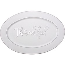 Bountiful Blessings by  Thankful Serving Platter