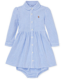 Ralph Lauren Baby Girls Oxford Dress