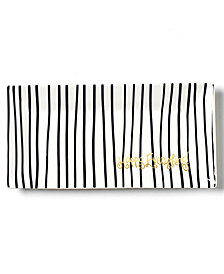 Coton Colors Happy Everything!™ Collection Black Stripe Scoop Tray