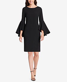 Jessica Howard Bell-Sleeve Sheath Dress
