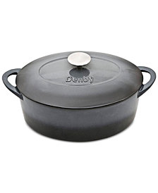 Denby Halo 4.5-Qt. Oval Covered Casserole