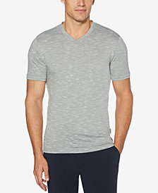 Perry Ellis Men's Heathered V-Neck T-Shirt