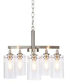 Madison Park Signature Halsey Five Shade Chandelier