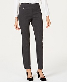 Petite Tummy-Control Pull-On Skinny Pants, Petite & Petite Short, Created for Macy's