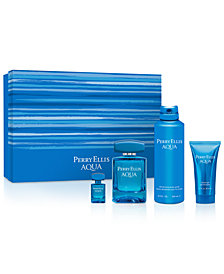 Perry Ellis Men's 4-Pc. Aqua Gift Set, A $107 Value