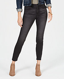 Style & Co Petite Curvy Tummy-Control Skinny Jeans, Created for Macy's