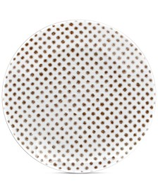 Hammock Coupe Dots Appetizer Plate, Created for Macy's
