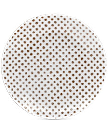 Noritake  Hammock Coupe Dots Appetizer Plate, Created for Macy's