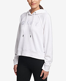 DKNY Sport Cropped Logo Hoodie, Created for Macy's