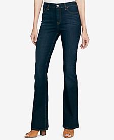 Junior Adored Hi Rise Flare 5 Pocket Jeans