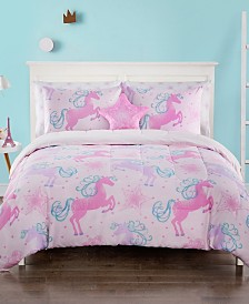 Unicorn 7 Pc Full Comforter Set