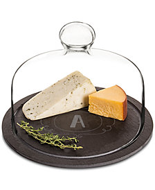 Cathy's Concepts Personalized Slate Tray With Glass Lid