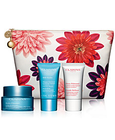 Clarins 4-Pc. Hydra-Essentiel Skin Solutions Set