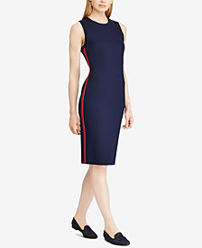 Lauren Ralph Lauren Ponté Knit Sleeveless Dress
