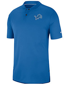 Nike Men's Detroit Lions Elite Coaches Polo 2018