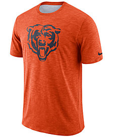 Nike Men's Chicago Bears Dri-Fit Cotton Slub On-Field T-Shirt