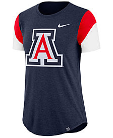 Nike Women's Arizona Wildcats Tri-Blend Fan T-Shirt