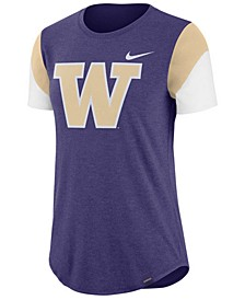 Women's Washington Huskies Tri-Blend Fan T-Shirt