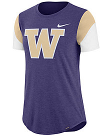 Nike Women's Washington Huskies Tri-Blend Fan T-Shirt