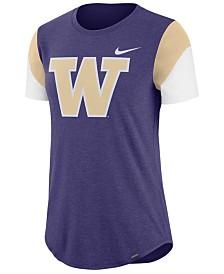 Nike Women's Washington Huskies Tri-Blend Fan T-Shirt